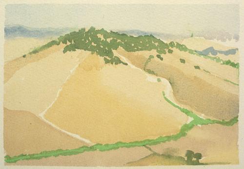 Maremma Landscape — Link to Tarquinia 2003