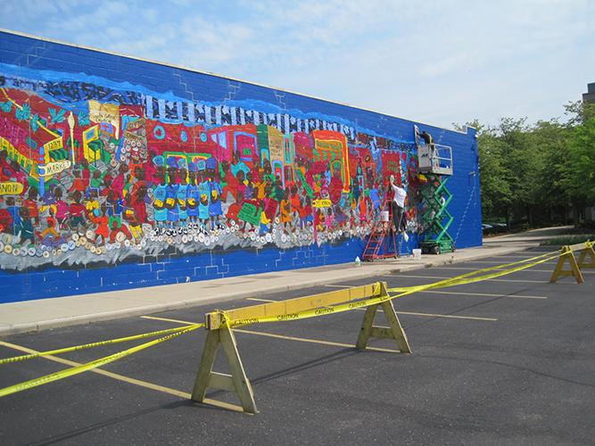 2013.05.17 Mural Restoration
