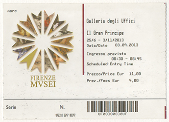 2013.09.03 Uffizi Ticket web