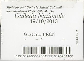 2013.10.19 Urbino Ticket web