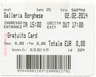 2014.02.02 Borghese Ticket web
