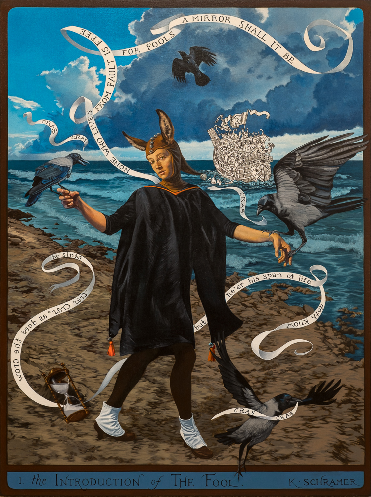 """""""The Introduction of The Fool"""" by Kristine Schramer"""